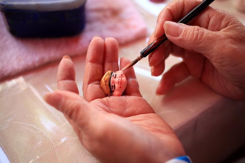 手な中に 福を呼び込む 博多はじき  at Hakata-ku Fukuoka(博多伝統工芸館)