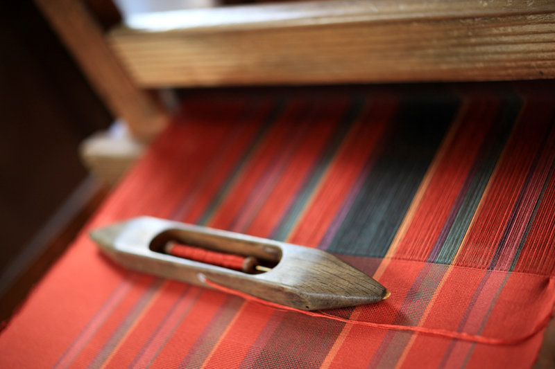 伝統の 時を織り込む 博多織  at Hakata-ku Fukuoka(博多町屋ふるさと館)
