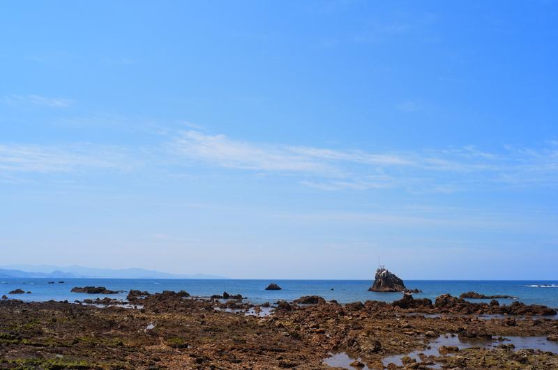 沖の宮 うみの安全 見守りし  at Akune Kagoshima