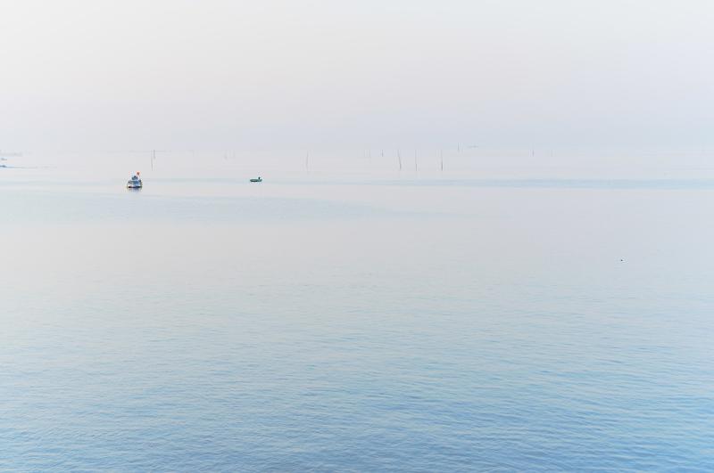 何もなき 空と海との 間には  at Kashima Nagasaki(有明海)