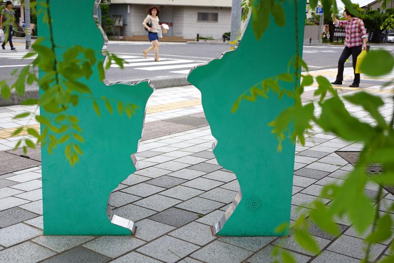遅れるよ バスが待ってる 早く来て  at Sakaiminato Tottori