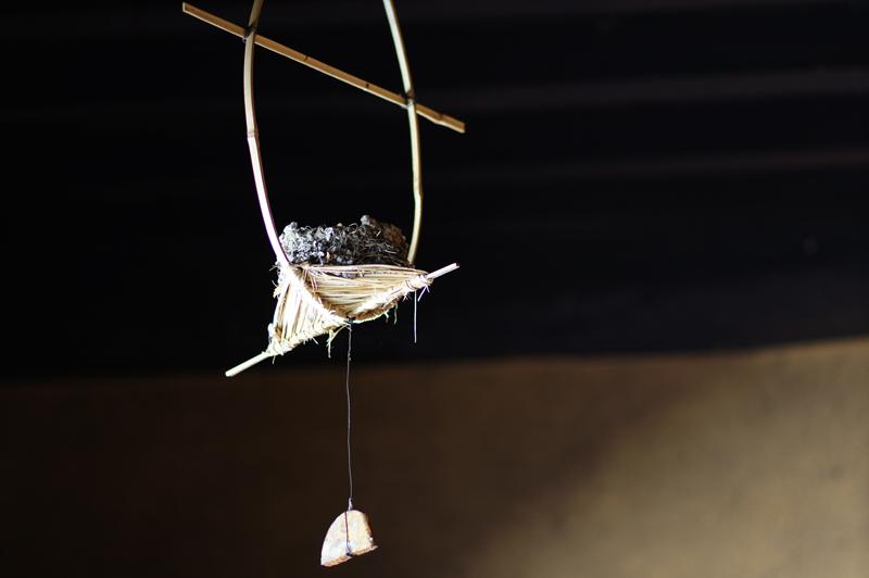来年も 帰って来ると 巣を残し  at Ota Shimane(石見銀山;群言堂)