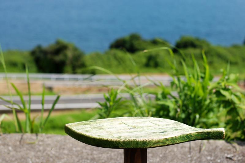 海沿いの 風に吹かれて 何載せる  at Shimabara Nagasaki