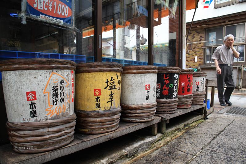 これ旨い ほっぺが落ちる 塩辛は  at Yobuko Saga