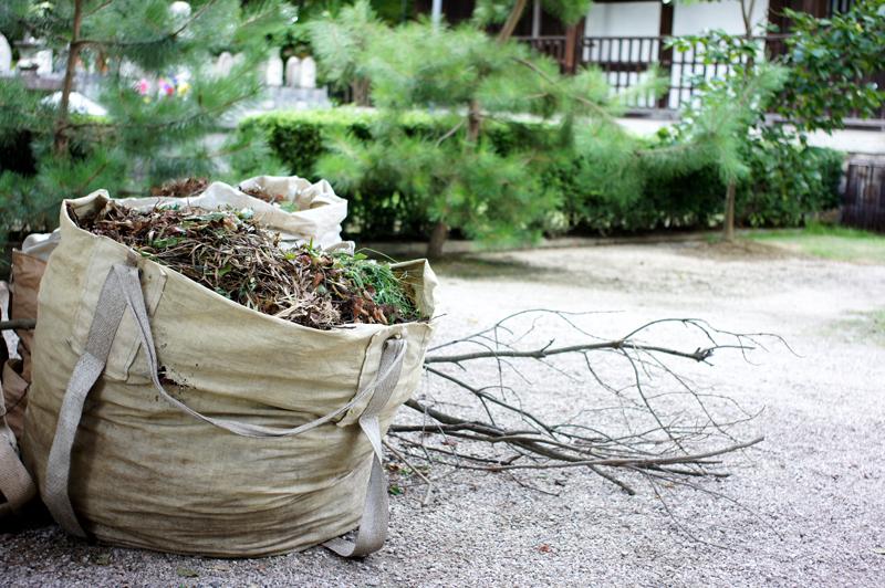人の業 袋に詰めて 捨てさりし  at Kurume Fukuoka(梅林寺)