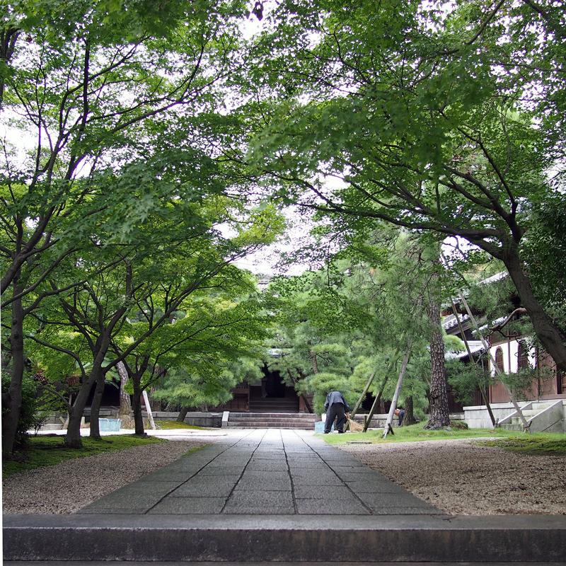 清めし 掃除明け暮れ 修行を  at Kurume Fukuoka(梅林寺)