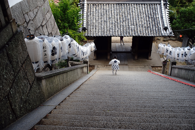 at Onomichi Hiroshima(御袖天満宮)