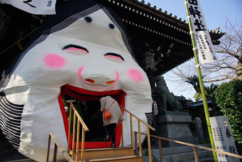 at Fukuoka Hakata(櫛田神社)