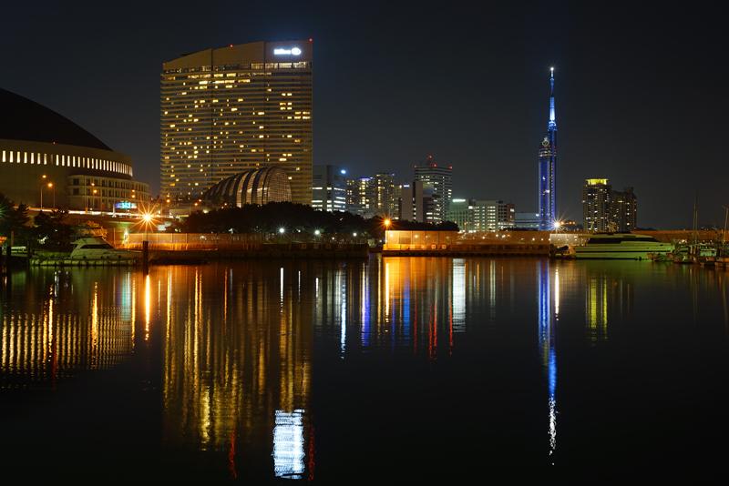 at Cyuo-ku Fukuoka(福浜;福岡タワーに小さくサザエさん)