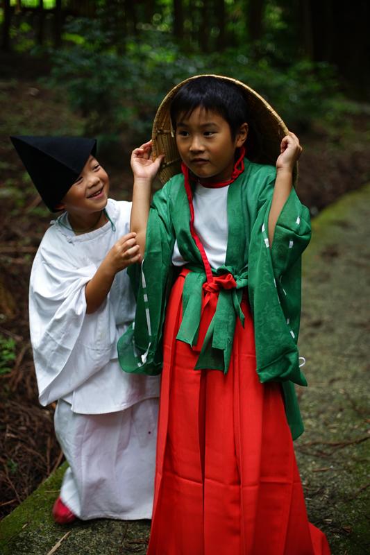 at Aso Kumamoto(国造神社;御田祭)