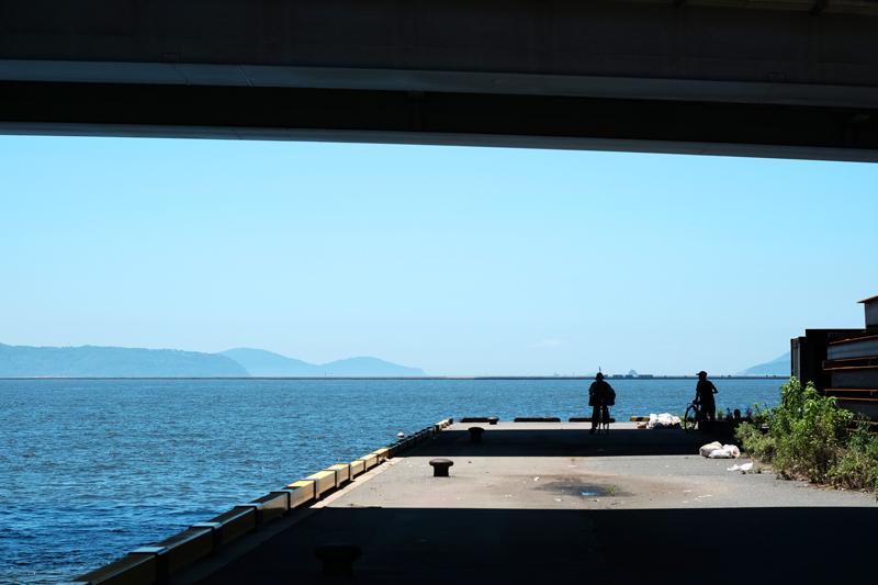 at Higashi-ku Fukuoka(箱崎港)
