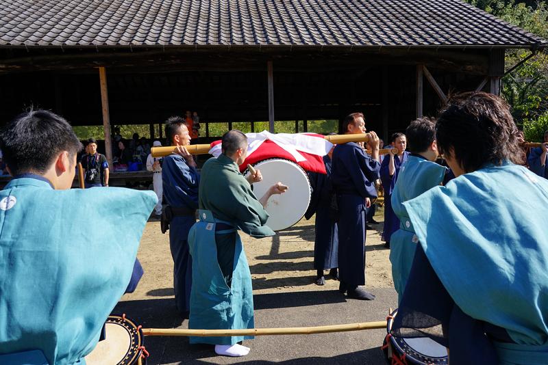 at Karatsu Saga(天山神社;広瀬浮立)