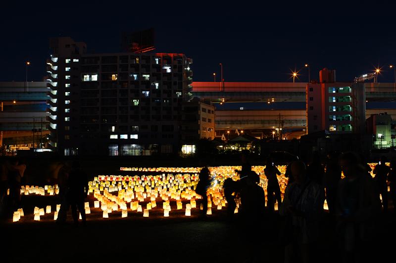 at Hakata Fukuoka(博多灯明ウォッチング2015 )