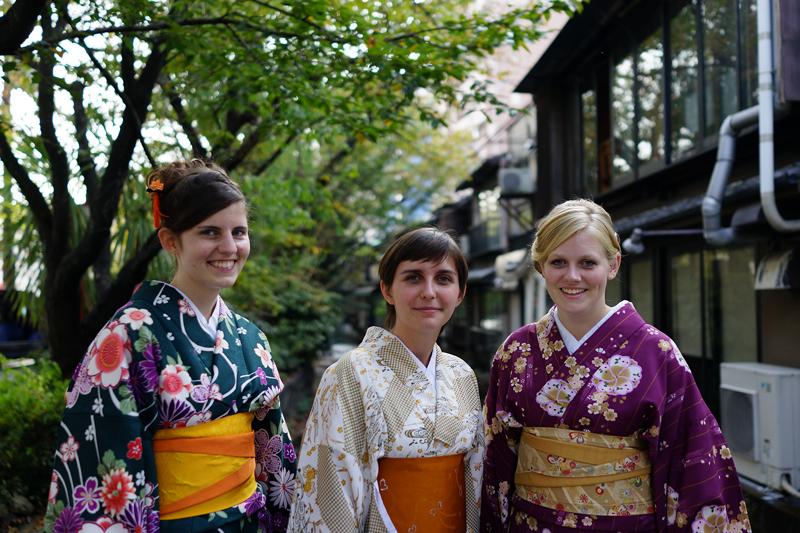 at Kyoto(祇園;好みの女性にピントを合わせます・・・)