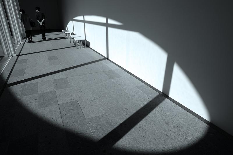 at Oita(県立美術館)