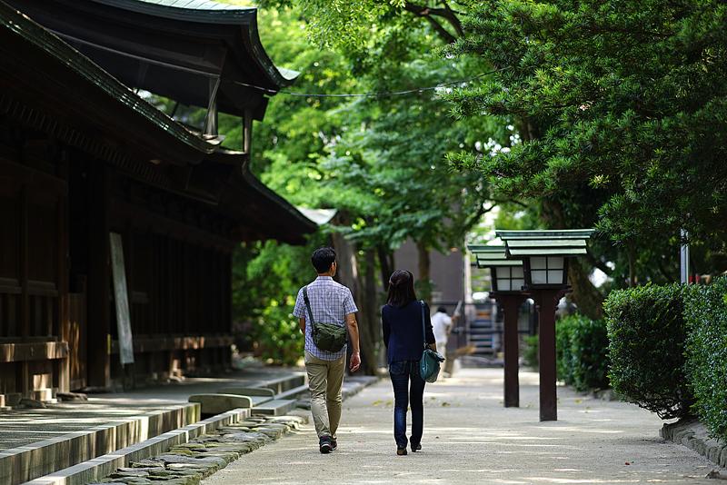 at Higashi-ku Fukuoka(筥崎宮)