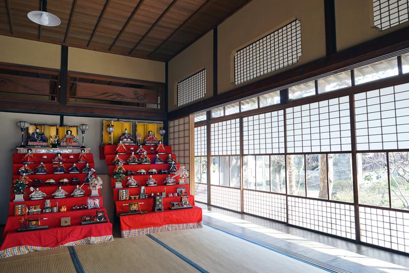 at Yoshii Fukuoka(鏡田屋敷)