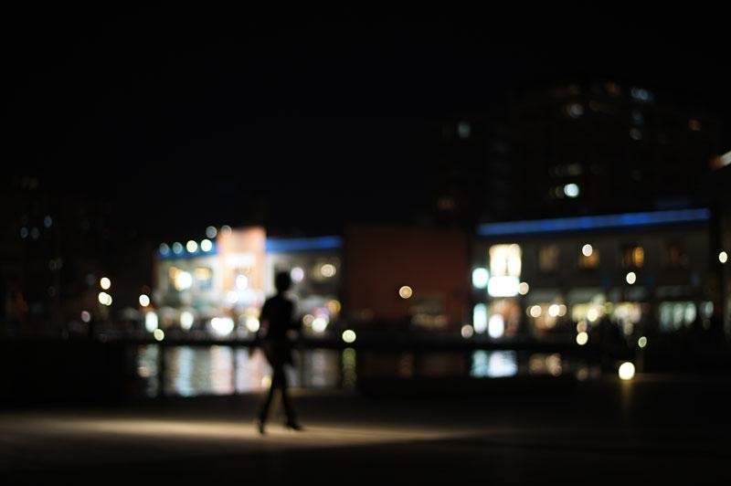 颯爽ト スポットライト シルエット  at Moji Fukuoka